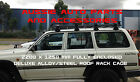 New Steel Roof Rack Cage 4 Toyota Landcruiser 60 80 Prado 90 Full Length 2.2m