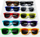 Mens Womens Wayfarer Sunglasses 10 Colours To Choose Retro Fashion Fast Postage