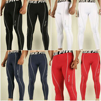 New Mens Winter Hot COMPRESSION Base Layer Pants tight under skin sports gear