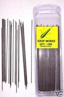 100 x 6inch UPTIDE GRIP WIRES FOR 8 AND 10 OUNCE UPTIDE WEIGHT MOULDS