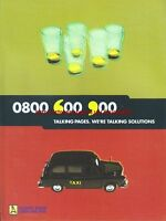"Talking Pages ""Taxi"" 1998 Magazine Advert #5170"