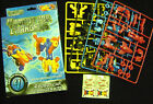 NEW BUILD YOUR OWN TRANSFORMING ROBOT CAR CHANGERS FUN MODEL KIT! BLUE