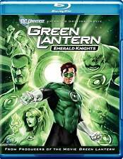 REGION FREE Blu Ray Only New Green Latern Emerald Knights on Blu Ray SEALED