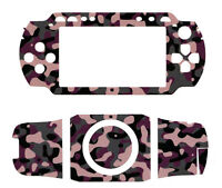 NEW CELLET CAMO CAMOUFLAGE DECAL SKIN TATTOO SCREEN PROTECTOR FOR SONY PSP 1000
