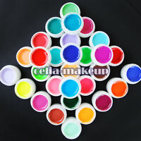 30 Color SOLID PURE UV GEL Builder NAIL ART dust  KIT Tips Kit Acrylic 432