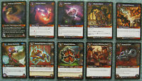 World of Warcraft TCG War of the Elements Rare Card Selection (WoW CCG WotE)