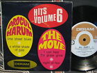 PROCUL HARUM & THE MOVE Hits Volume 6 ~ RARE! 1967 Australia Only PIC SLV EP 45