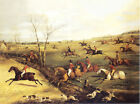 "FOXHOUND FOX HUNTING ""THE OAKLEY HUNT"" DOG FINE ART PRINT (Small) - H T Alken"