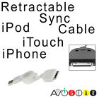 Computer USB Sync Data Cable for Apple Iphone 3GS, 4, 4S, iTouch, iPod White