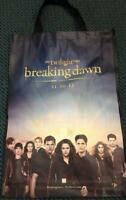 TWILIGHT BREAKING DAWN PART 2 SWAG BAG 29x24 SDCC 2012 NEW San Diego Comic Con