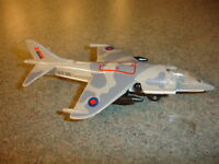 1980 Collectible Diecast Matchbox Harrier SB 27 Jet Plane Toy