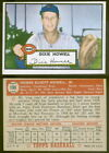 (10145) 1952 Topps 135 Dixie Howell White Back Reds-EX
