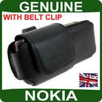GENUINE Nokia LEATHER CASE Mobile 6230 6280 N73 N80 original cell phone pouch