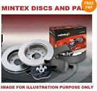 FOR Mazda RX8 SPORT 1.3 2002-2012 MINTEX FRONT BRAKE DISCS SET + DISC PADS KIT