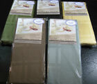 "'MICROFIBER"" ""CHELSEA"" TABLECLOTHS - ASST. COLORS &SIZES-100% POLYESTER-ELRENE"