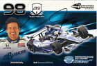 2012 ALEX TAGLIANI signed INDIANAPOLIS 500 PHOTO CARD POSTCARD INDY CAR HONDA wC