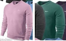 Brand New Nike Golf V-Neck Pure Wool Sweater Jumper Mens 2013 Lambswool