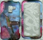 bird rubberized LG Enlighten VS700 Verizon cover snap on hard Case