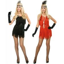 Flapper Costume Adult Roaring 20s Flapper Girl Dress Halloween Fancy Dress
