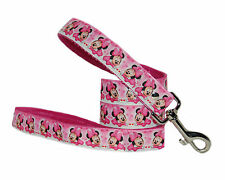 """pink lady & the tramp black 101 dalmations  1""""cushioned leads (various designs)"""