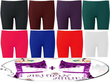 NEW LADIES PLUS SIZE CYCLING SHORTS OVER KNEE LENGTH HOT PANTS TIGHTS 16-26