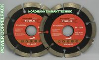 diamond cutting disc Diamond disc ø 115 mm POWERTEC 2 Pieces