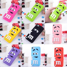 Multi-color Silicone Protect Cover Case 3D Lovely For Apple Ipod Touch 4TH /5TH