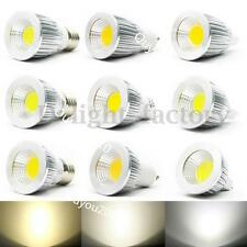 MR16 E27 E14 GU10 6W 9W 12W COB LED Dimmable Downlight Globe Bulbs Spot Light