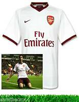 Rare New NIKE ARSENAL Football Shirt White / Claret 2007/08  XL - XXL