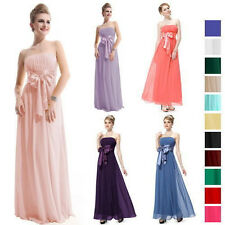 Womens SEX Long Formal Evening Gown Bridesmaid Prom Dress Wedding Party Dresses