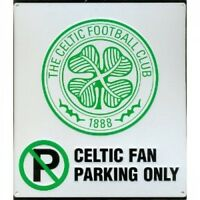 Celtic Football Club Fan Only No Parking Street Sign