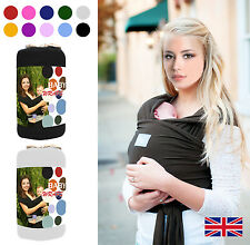 Baby Wrap / Sling / Carrier 0-3yrs with carry case -  Various Colours