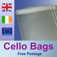 1000 C6 / A6 Cello Bags for Greeting Cards / Clear / Cellophane Peel & Seal Bags