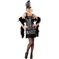 Flapper Costumes Adult Roaring 20s Gatsby Girl Halloween Fancy Dress