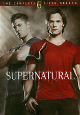 Supernatural: The Complete Sixth Season New DVD! Ships Fast!