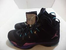 Nike Air Jordan Super.Fly 2 Mens Basketball Shoes Size 10.5-12 ColorBlack,Purple
