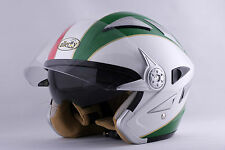 CASCO DEMI-JET ALLERGY-HELMETS DOUBLE DOPPIA VISIERA