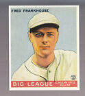 FRED FRANKHOUSE 1983 REPRINT OF 1933 GOUDEY CARD by RENATA GALASSO #131