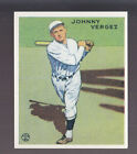 JOHNNY VERGEZ 1983 REPRINT OF 1933 GOUDEY CARD by RENATA GALASSO #233