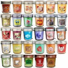 Bath & Body Works White Barn Mini Scented Candle 1.3 oz. Mason Jars, Pick Scent