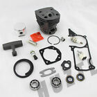 46MM Cylinder Piston Kit With Gasket Oil Seal Pin Bearing For Husqvarna 55 51