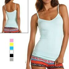 12 Pack: Ambiance Ladies Lycra Tank Top with Adjustable Straps