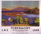 1920's LMS LNER Tobermory Railway A3 Poster Reprint