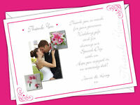 Personalised Wedding Thank You Notes