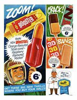 1960's Walls Ice Lolly Ad A3 Poster Reprint