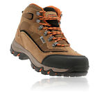 Hi-Tec Mens Keswick Brown Waterproof Outdoors Trail Walking Hiking Boots Shoes