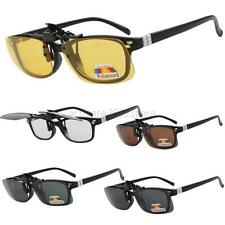 New Night Vision Polarized Driving Clip-on Flip-up Lens Sunglasses Glasses A59
