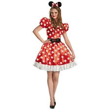 Minnie Mouse Costume Adult Disney Halloween Fancy Dress