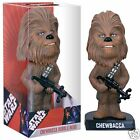 STAR WARS CHEWBACCA wookie Wacky Wobbler Bobble Head BN