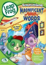LEAPFROG: SCOUT & FRIENDS - THE MAGNIFICENT MUSEUM OF OPPOSIT NEW DVD